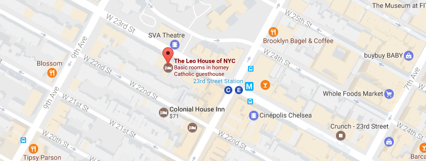 Directions to The Leo House