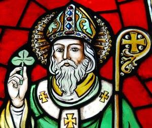 St. Patrick with Shamrock