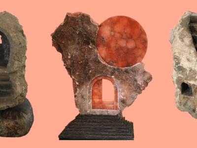 Sacred Spaces Sculpture Exhibit Ailene Fields