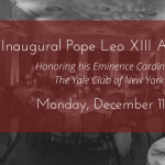 Pope Leo XIII Award Gala Save Date