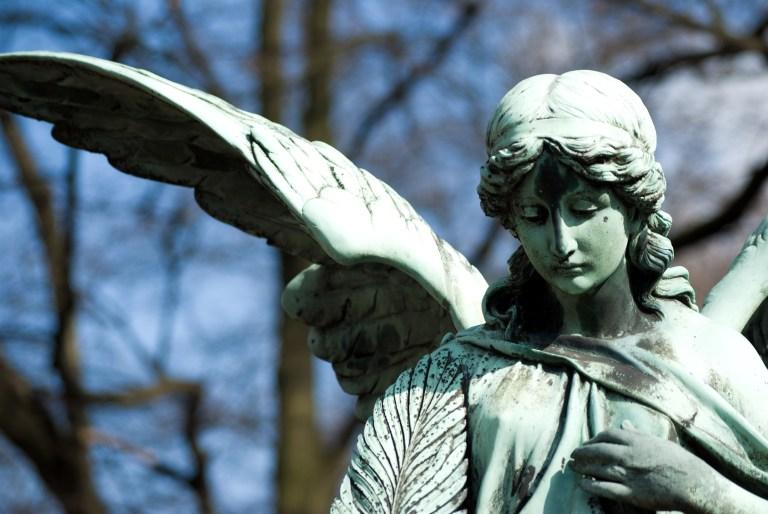 Ein Engel trauert