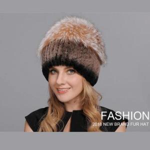 Коллекция женских меховых шапок MeiLing