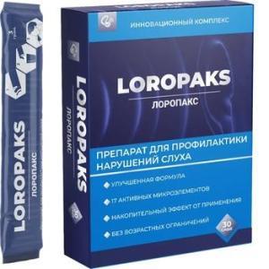 Лоропакс - препарат для профилактики нарушений слуха