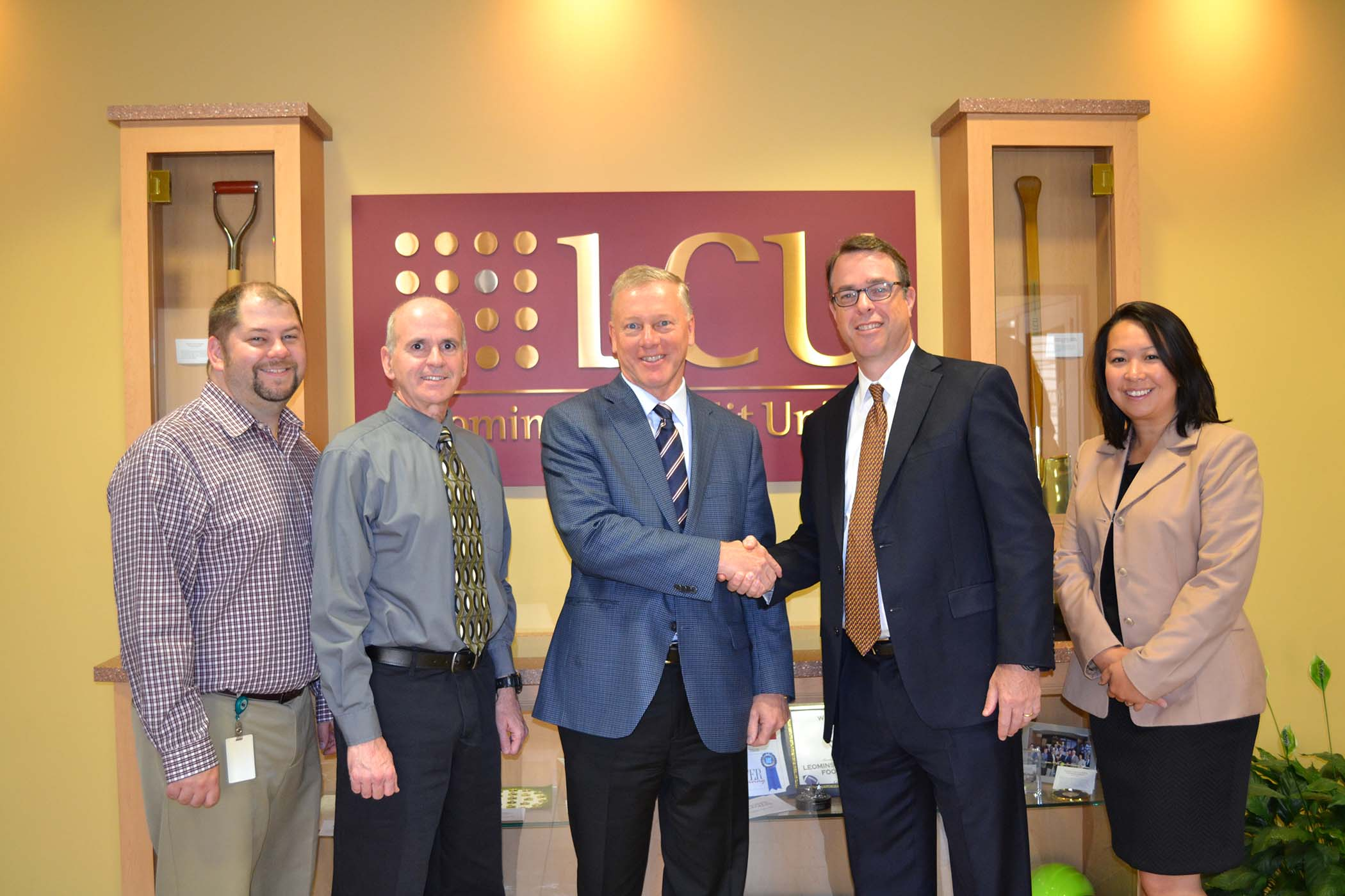 Leominster Credit Union Receives 5 000 Towards Charitable Donations