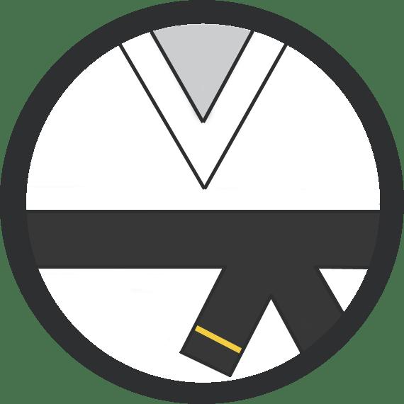 Leominster Martial Arts_Rank_Black Belt 1 Stripe