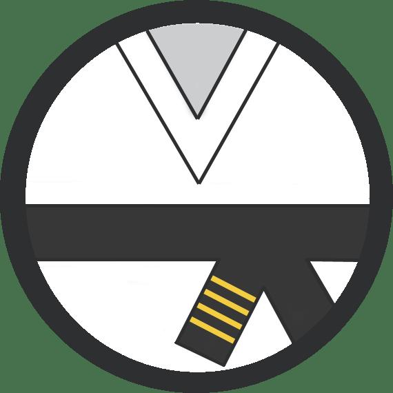 Leominster Martial Arts_Rank_Black Belt 4 Yellow Stripes