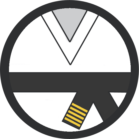 Leominster Martial Arts_Rank_Black Belt 5 Yellow Stripes