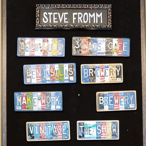Steve-Fromm-License-Plates