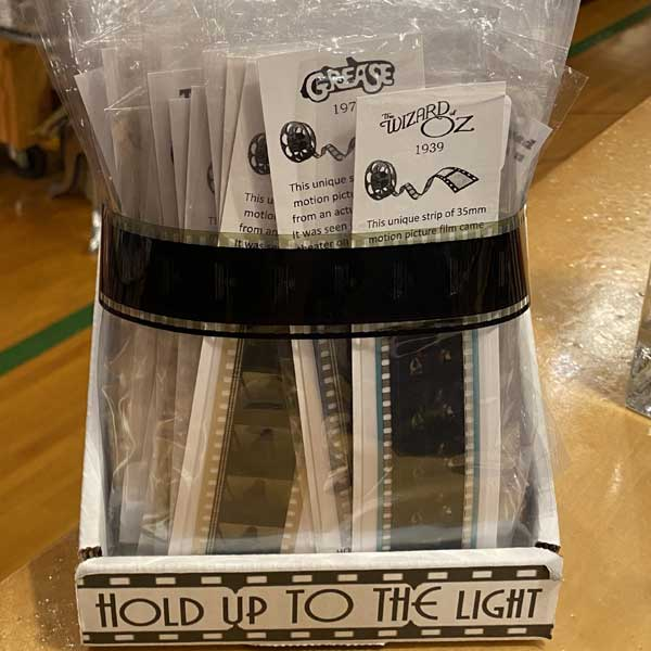 Actual Film Strips