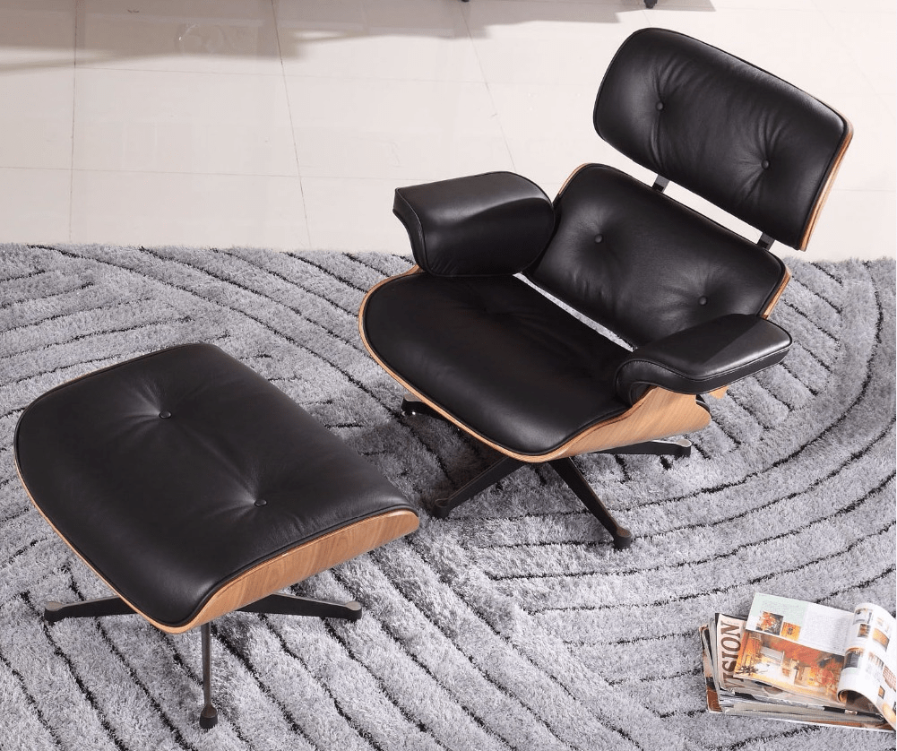 black-genuine-leather-walnut-color-veneer-chaise
