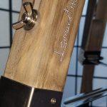 Adjustable Tripod Lamp w: Leonard & Hazel Insignia