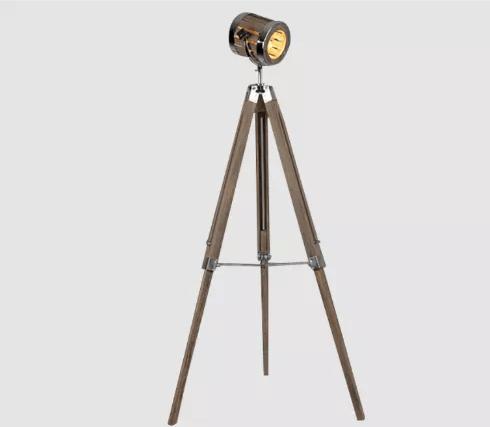 Leonard & Hazel™ Adjustable Tripod Spotlight Lamp - Tall