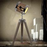 Leonard & Hazel™ Spotlight Lamp w: Adjustable Tripod