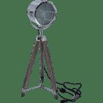 Nordic American Adjustable Tripod Searchlight Lamp by Leonard & Hazel