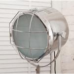 Nordic Style Tripod Spotlight Lamp - Chrome