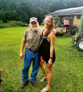 Tina and her Dad