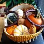Fall Season Seagrass Basket by Leonard & Hazel