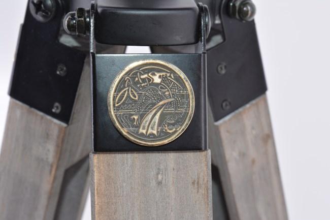 Dragon Coin flare - tripod floor lamp tripod desk lamp