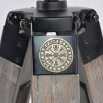 Norse Vegvísir Coin flare - tripod floor lamp tripod desk lamp