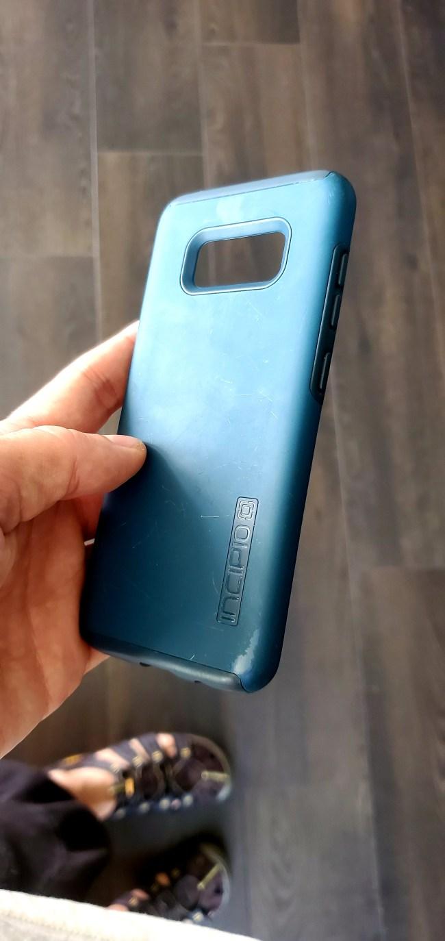 Incipo Blue Phone Case