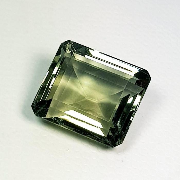Natural Green Amethyst Emerald Cut 8.60 ct