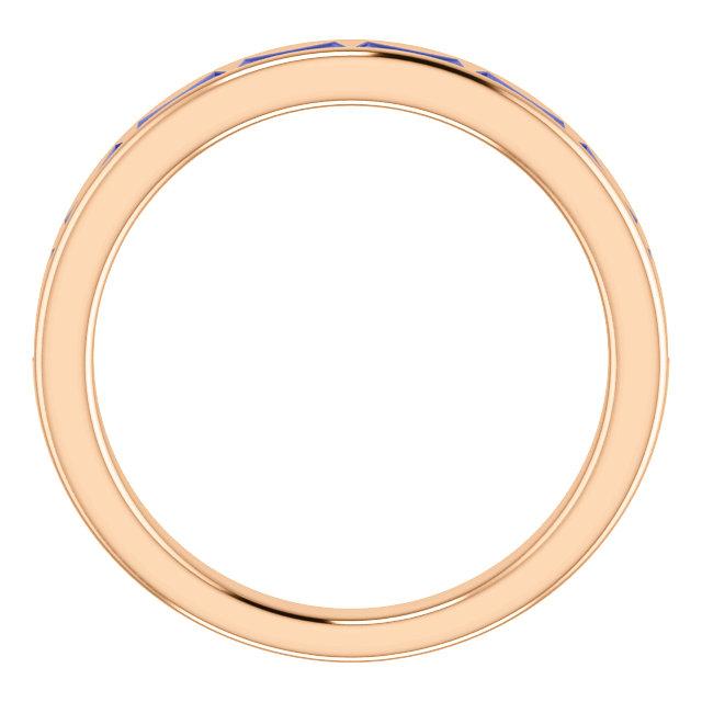 14K Rose Tanzanite Ring