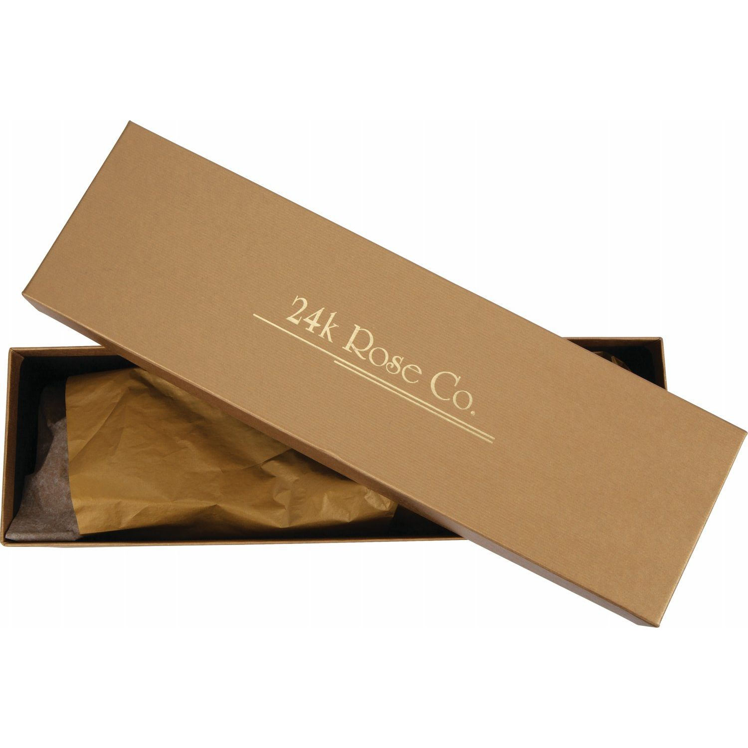 Lacquered Rose Gift Box from Leonard & Hazel™
