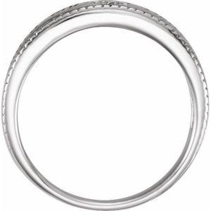Sterling Silver Guard My Heart Ring from Leonard & Hazel™