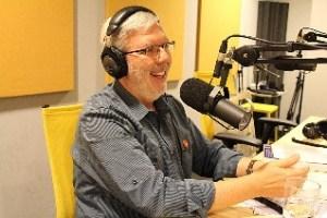 Leonard at mike podcasting