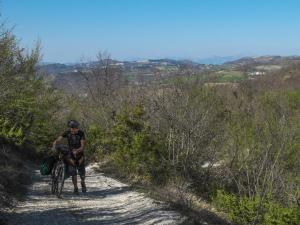 Tappa 3. Bici a spinta. Cammino di Francesco.
