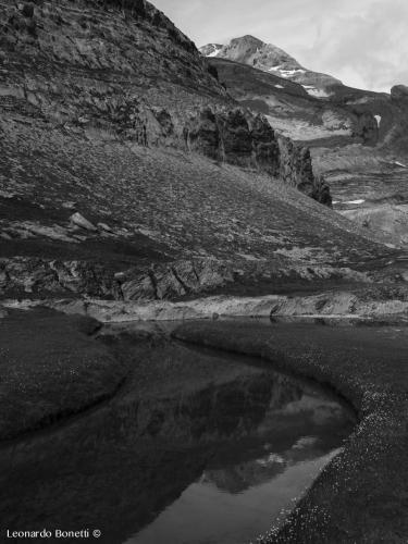 Monte Perdido - Riflessi e specchi d'acqua