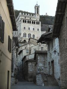 Tappa 2. Palazzo dei Consoli - Gubbio.