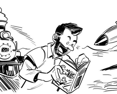 gioie e dolori del self publishing a fumetti