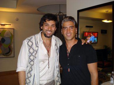 Alejandro Fernandez y Leonardo Rocco