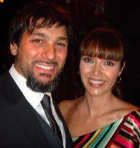 Marlene Favela y Leonardo Rocco