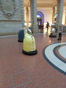 Roboty w Muzeum Komunikacji