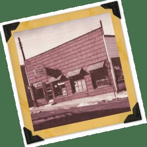 Leonard's Store Building, Vintage Look