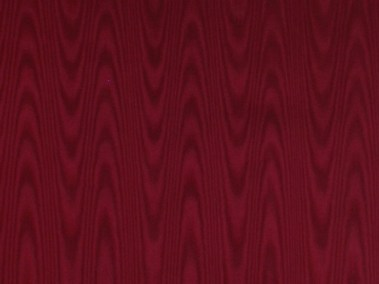 Burgundy Silk Moire End Pages