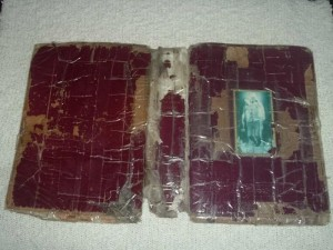 Box Taped Bible Cover