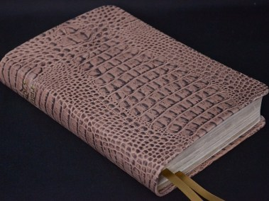 Camel Bomber Cowhide Bible