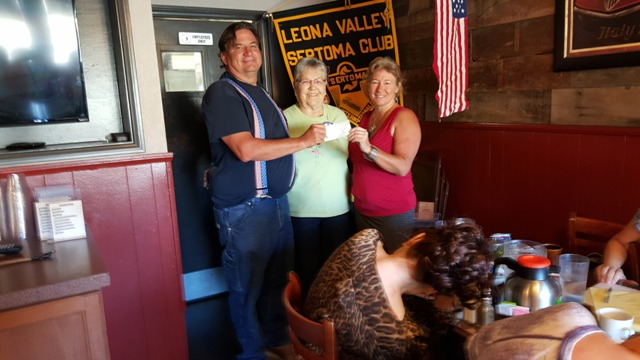 AC Dave contributes $300 for turkey fund.