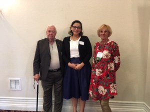 Leona valley Sertoma awards a scholarship to Veronica Castro