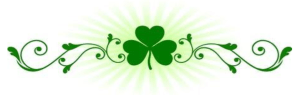 st. patrick's day green clover graphic