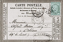 Carte postale offcielle