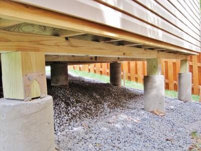 Concrete Piers Leon Foundation