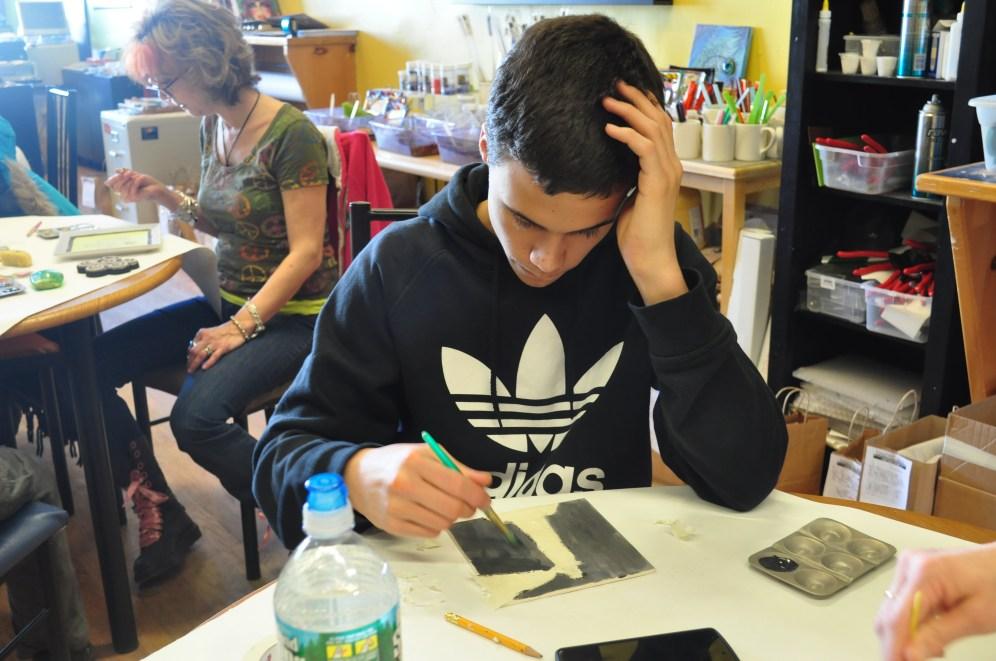 20150131 Phs LUMC Youth Builder Event-Tile Art (5)