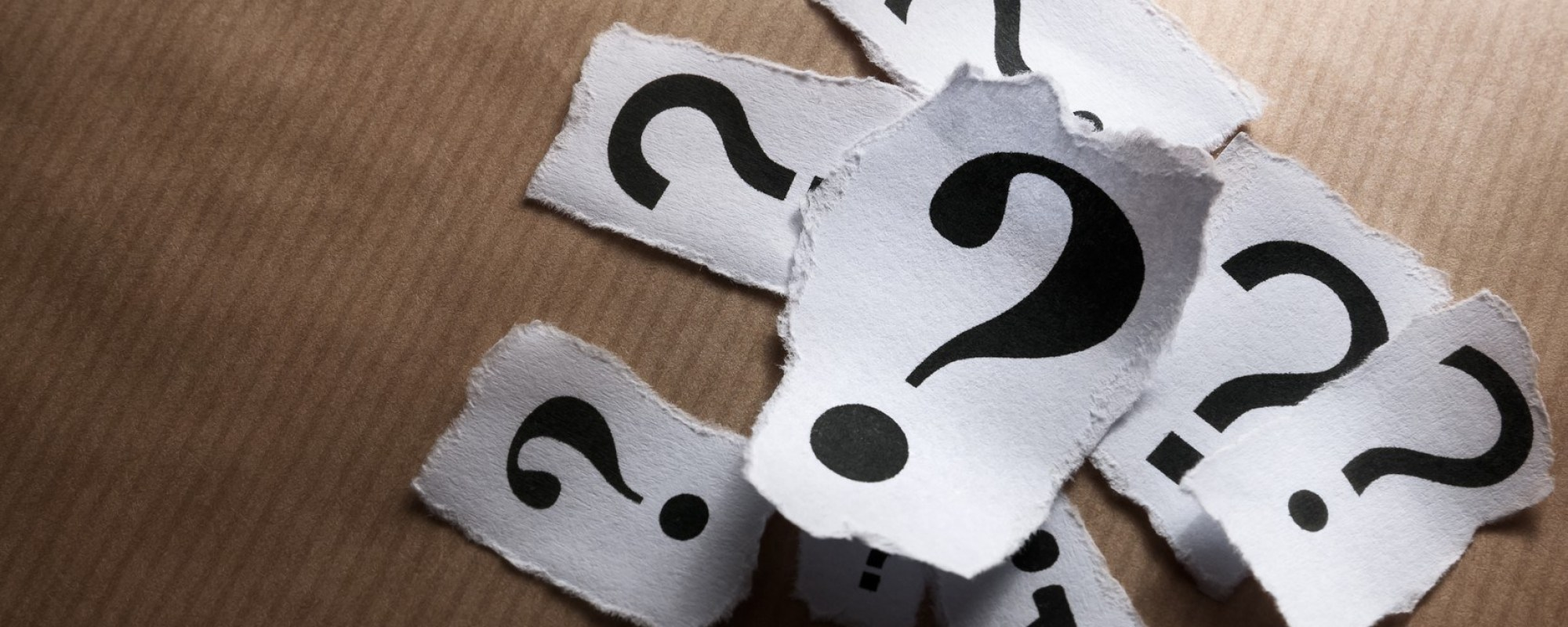 Three Questions… No One Asks Aloud