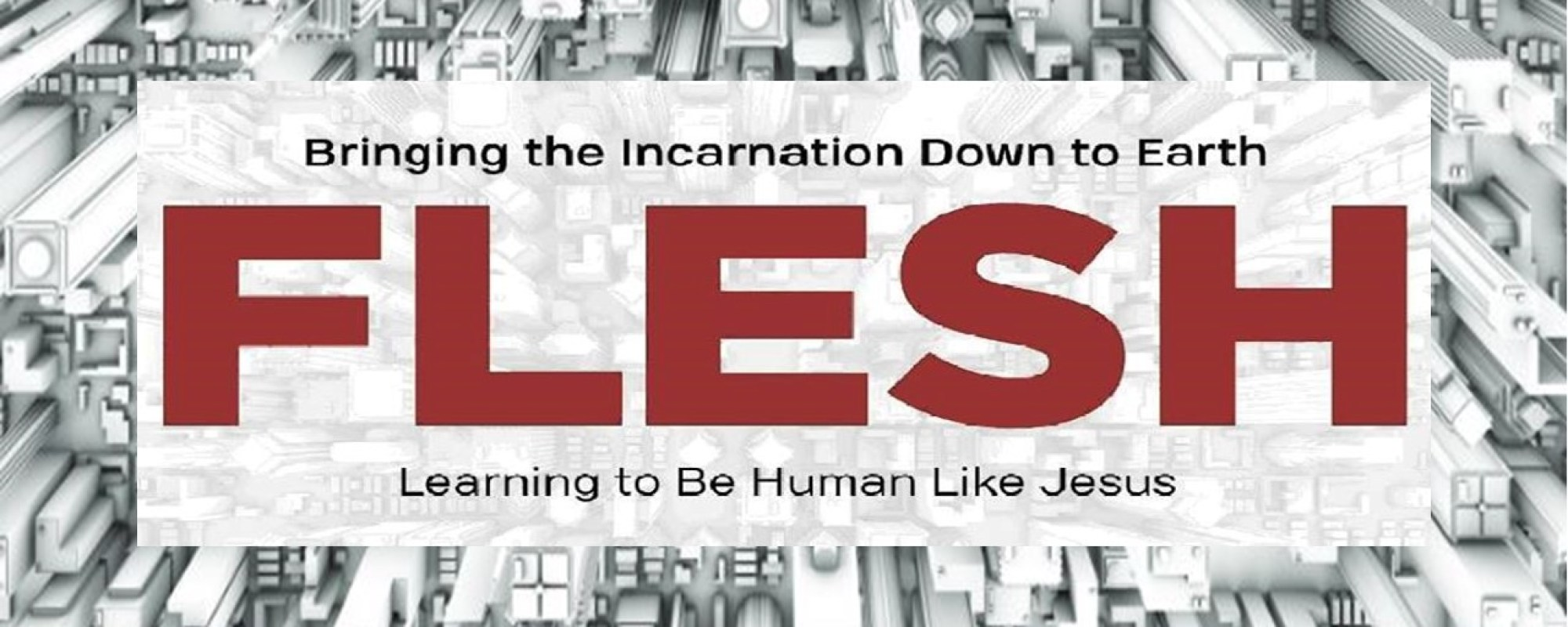New Sermon Series – FLESH: Bringing the Incarnation Down to Earth