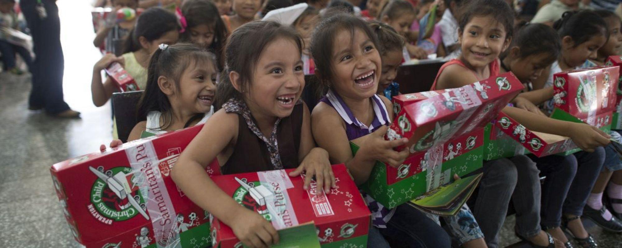 The Amazing Journey of a Shoebox – Operation Christmas Child