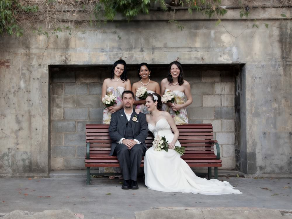Brisbane Powerhouse Wedding